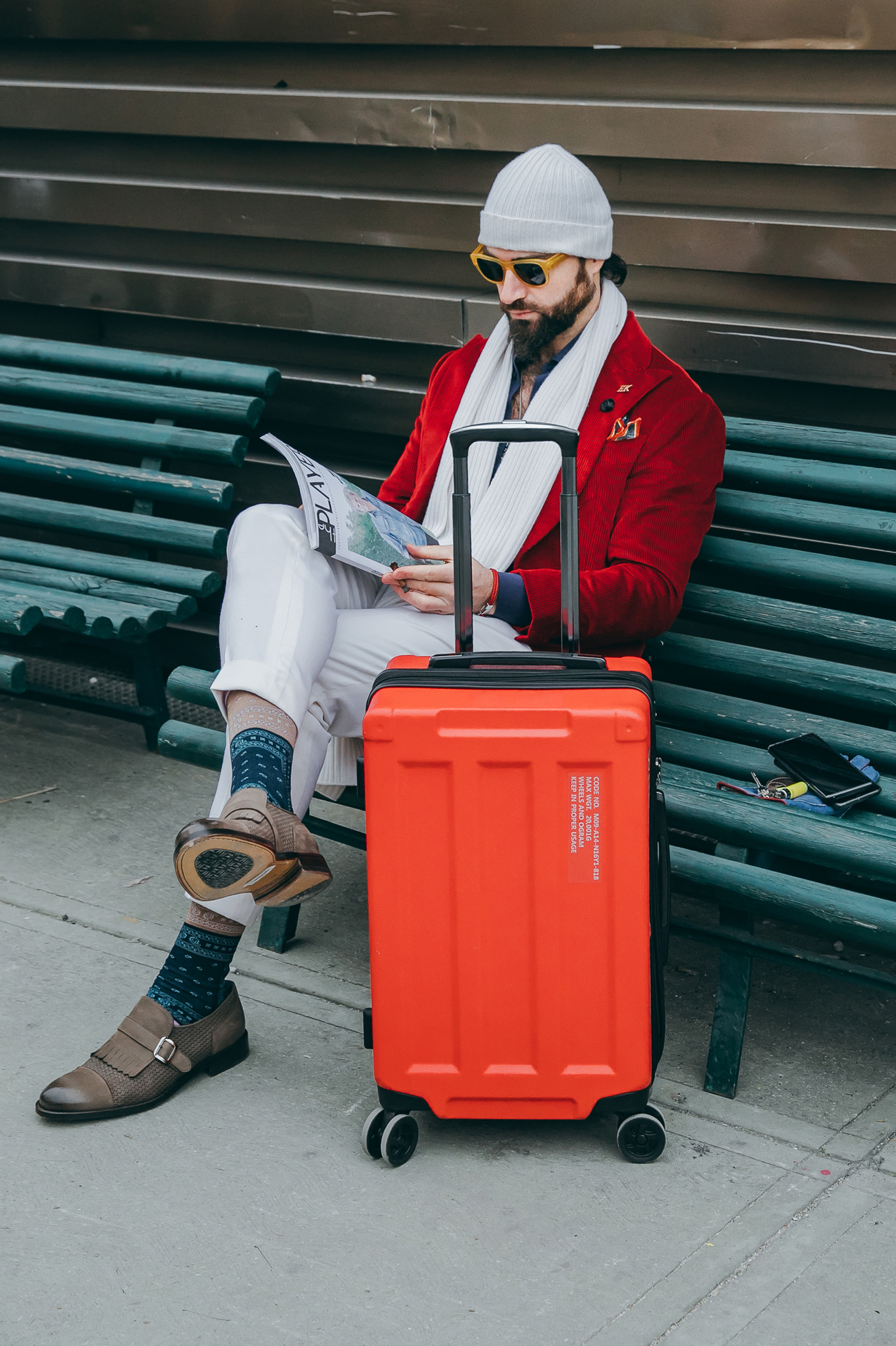 2019 Milano Pitti Uomo_WHEELS&CONTAINER RED